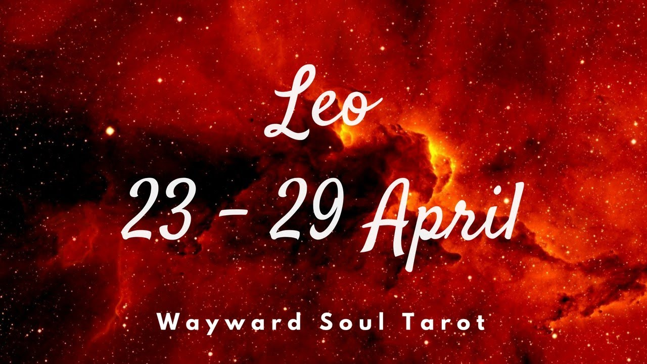 leo weekly 23 to 29 love tarot
