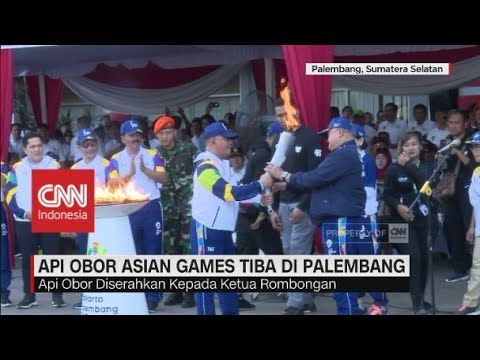 Api Obor Asian Games Tiba Di Palembang