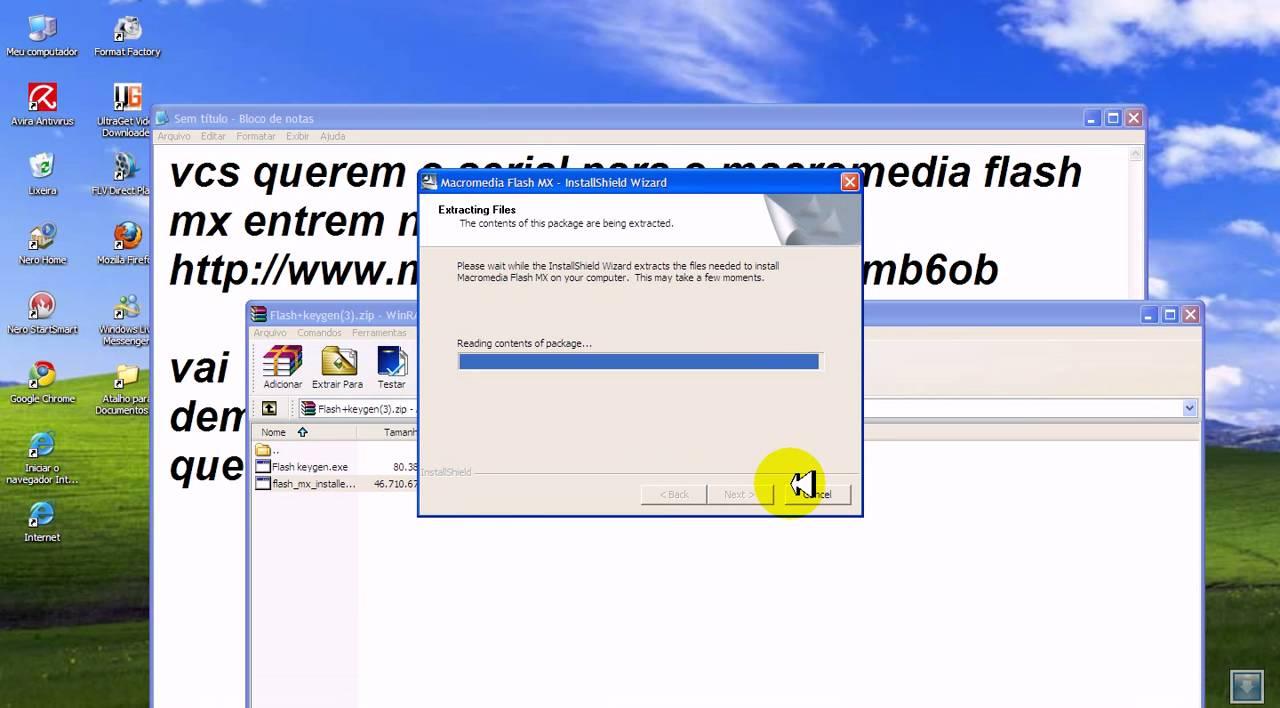 Macromedia flash mx 2004 serial