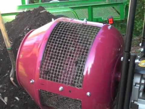 Compost sifter youtube
