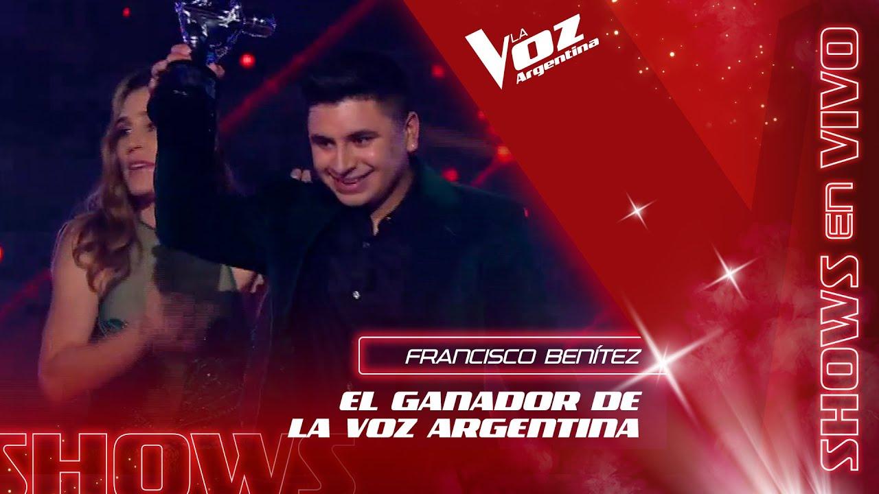 Francisco Benítez es el GANADOR de La Voz Argentina 2021