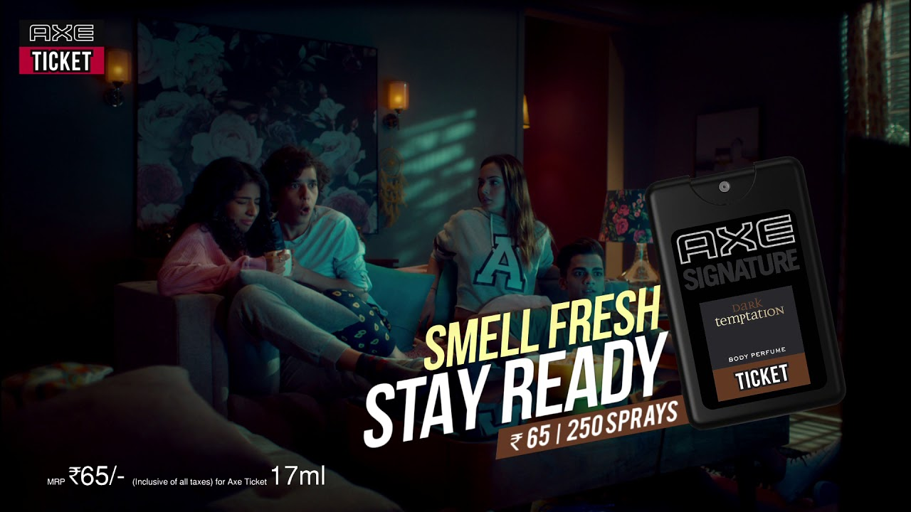 Movie Night? Get Axe Ticket! Smell Fresh, Stay Ready