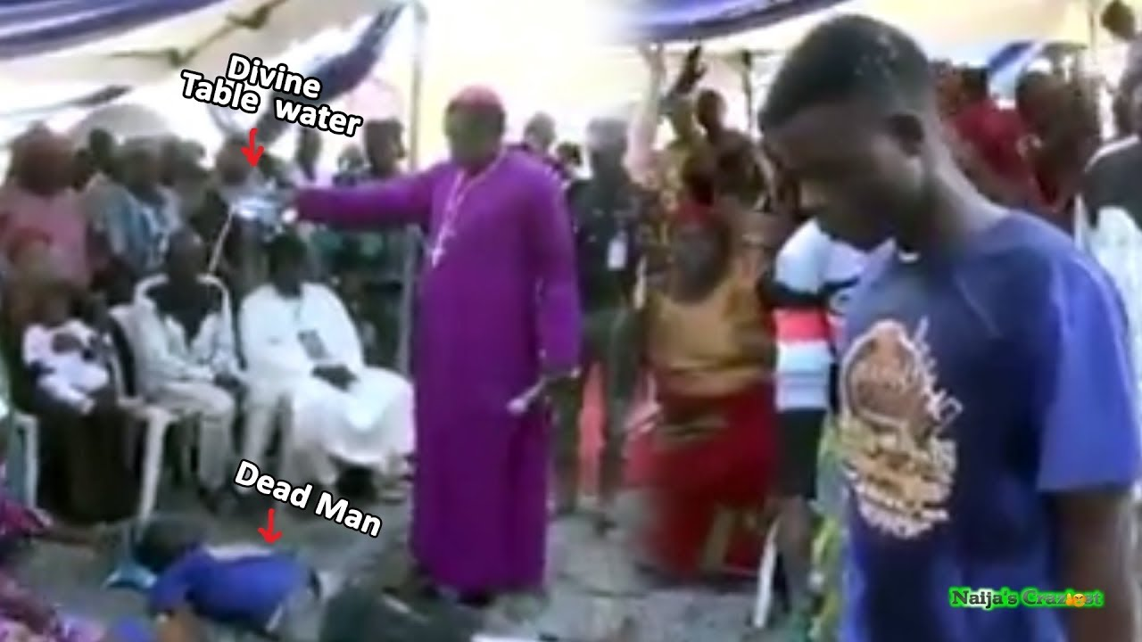 Download Abuja Bishop Resurrects Herdmans From The Dead With Divine Table Water Like Pastor Alph Lukau
