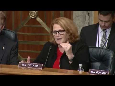 Heitkamp Discusses Judicial Review in the Federal Regulatory Process at Senate Subcommittee Hearing