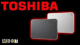 Toshiba Canvio Premium 1TB Portable Hard Drive!? | Review