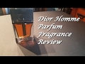 Dior Homme Parfum Fragrance Review (You Know You Love It)