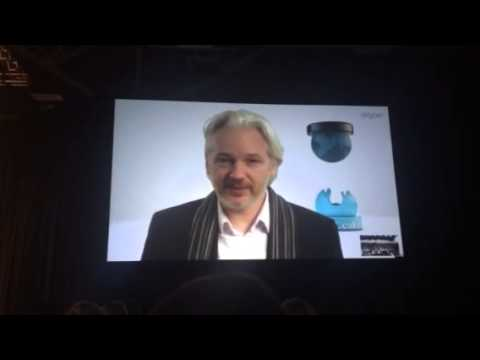 Julian Assange at SXSW 2014
