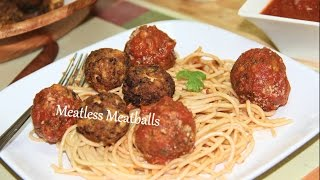 Meatless Meatballs Video Recipe By Bhavna | Tofu Mushrooms Balls Recipe