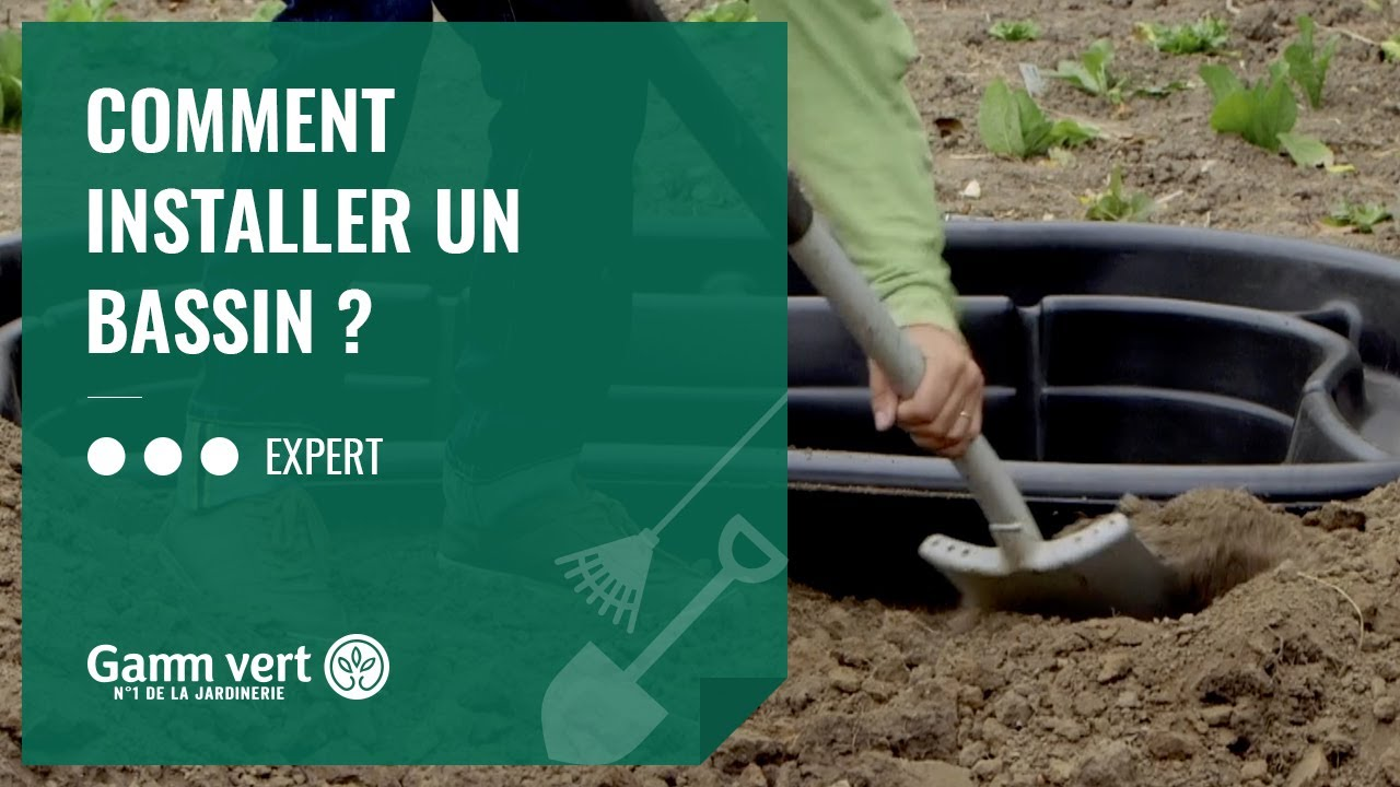 Tuto Comment Installer Un Bassin Jardinerie Gamm Vert Youtube