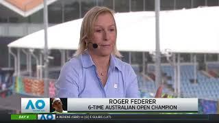 Tennis Channel Live: Roger Federer Races Through 2020 Australian Open Second Round