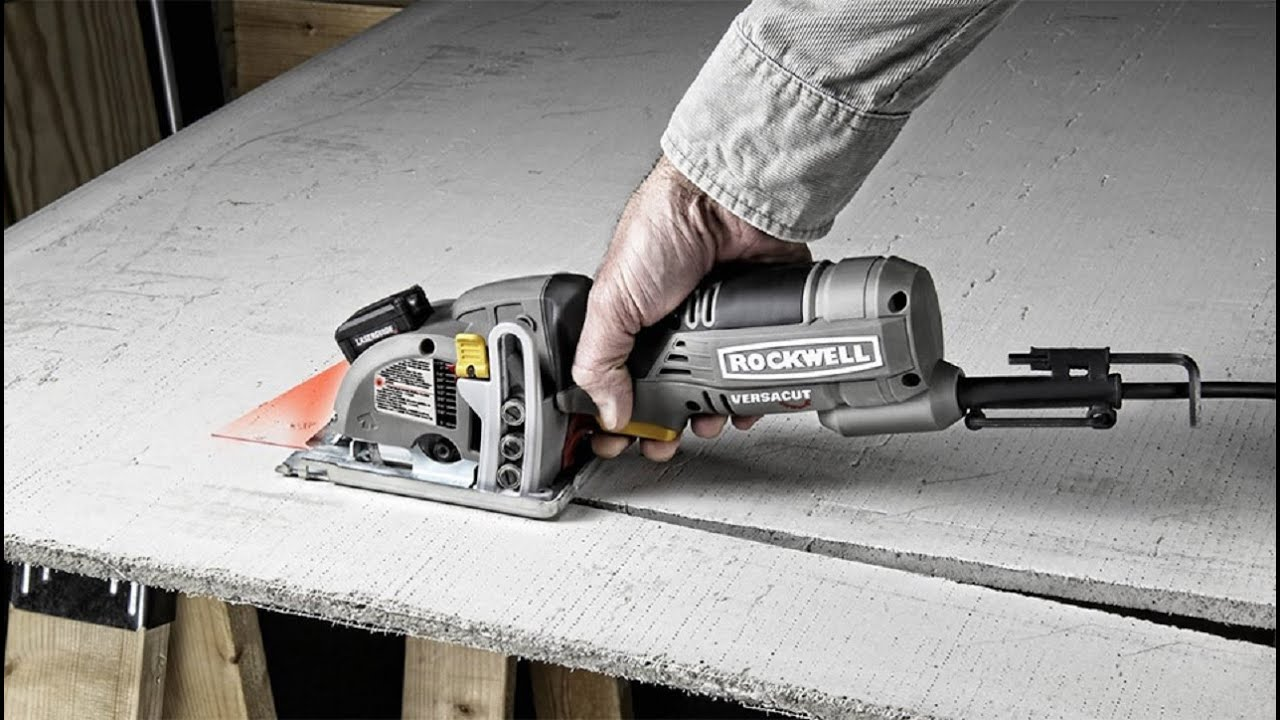 Rockwell rk3440k versacut 40 amp mini circular saw kit with laser product videos greentooth Images