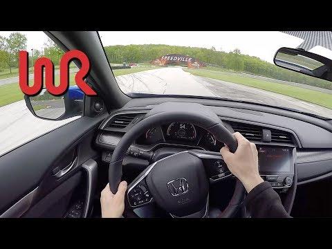 2017 Honda Civic Si Coupe - POV Track Review (Road America)