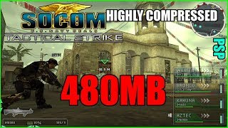 [480MB]SOCOM U.S. Navy SEALS: Tactical Strike For PPSSPP IN Highly Compressed Version