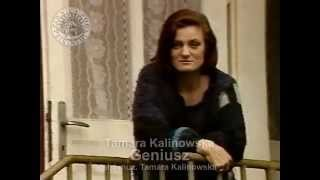 GENIUSZ  - Tamara Kalinowska [z archiwum Piwnicy pod Baranami]