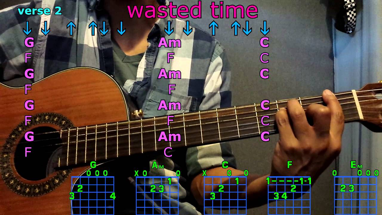 Wasted time keith urban guitar chords youtube wasted time keith urban guitar chords hexwebz Images