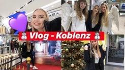 Vlog aus Koblenz ☃ Weihnachtsshopping 🎁🎄|| Joline Elisa