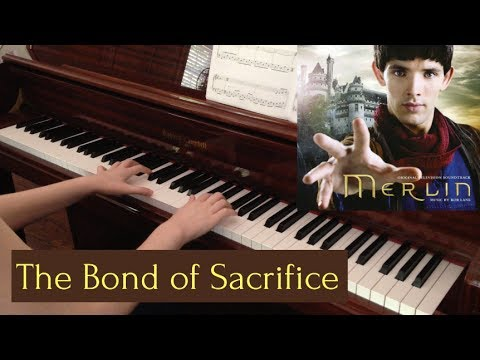 The Bond of Sacrifice (Merlin Piano Cover w/ Accompaniment)