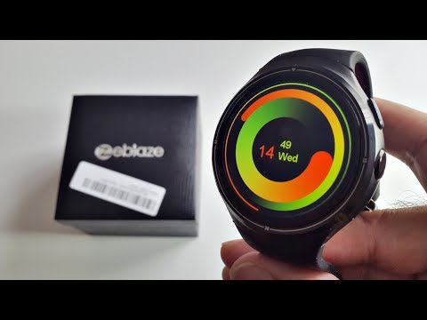 Zeblaze THOR 3G Android Smartwatch Review - AMOLED Screen