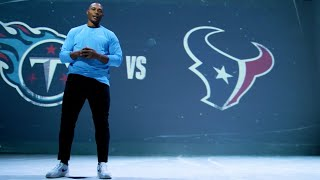 Eddie George: It's Time To 'Titan Up' Against The Houston Texans