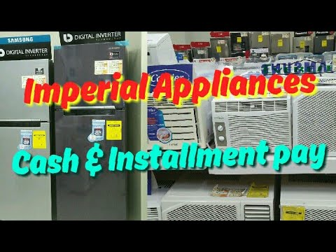 Imperial Appliances Cash Price & Installment Pay | Philippine SRF