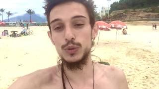Brezilya'da Sahilde Slackline Yapıyoruz