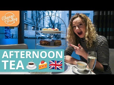 AFTERNOON TEA AT THE HILTON IN LONDON - TRADITIONAL BRITISH FOOD EXPERIENCE & ETIQUETTE