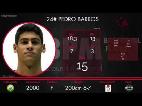 Pedro Barros '00 - Final U18 Catalonia Champ