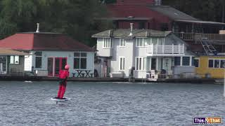 """""""Jetsons"""" on Portage Bay"""