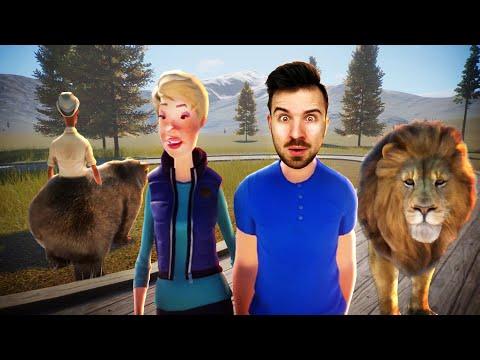 КОНТАКТНЫЙ ЗООПАРК ЮДЖИНА в Planet Zoo