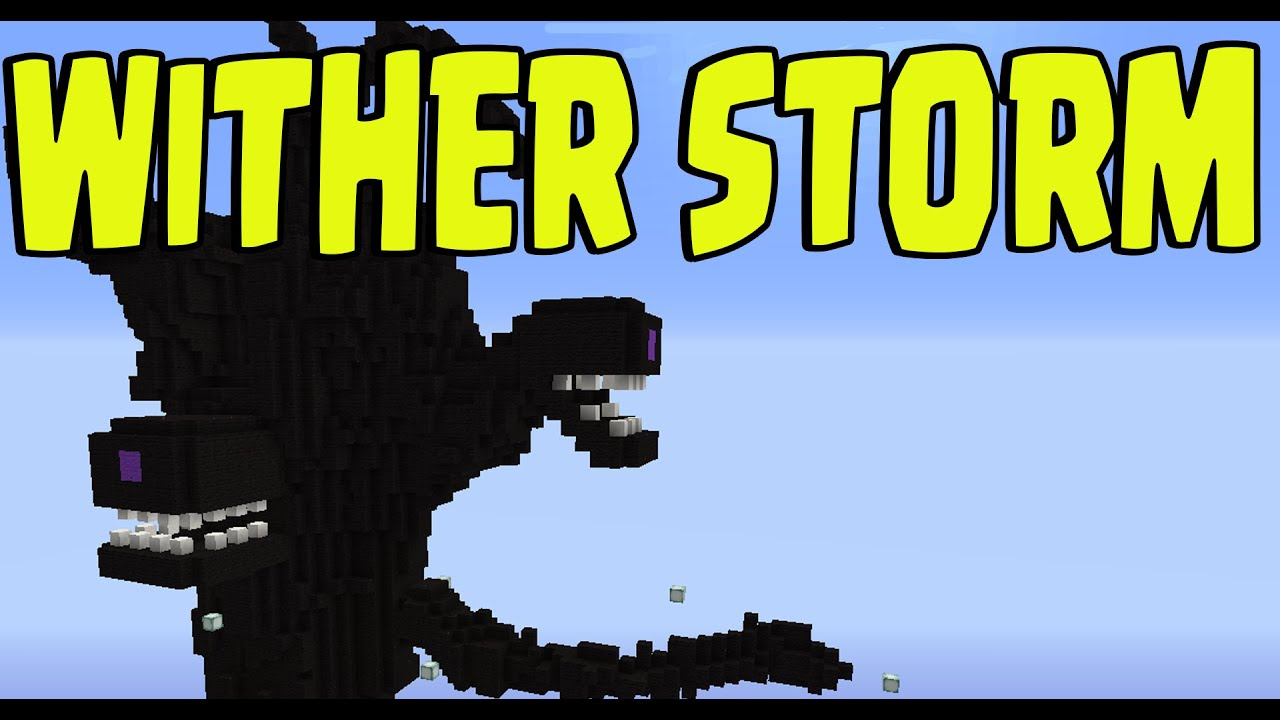 Minecraft Ps3 Ps4 Xbox Wii U Quot Wither Storm Quot New Title
