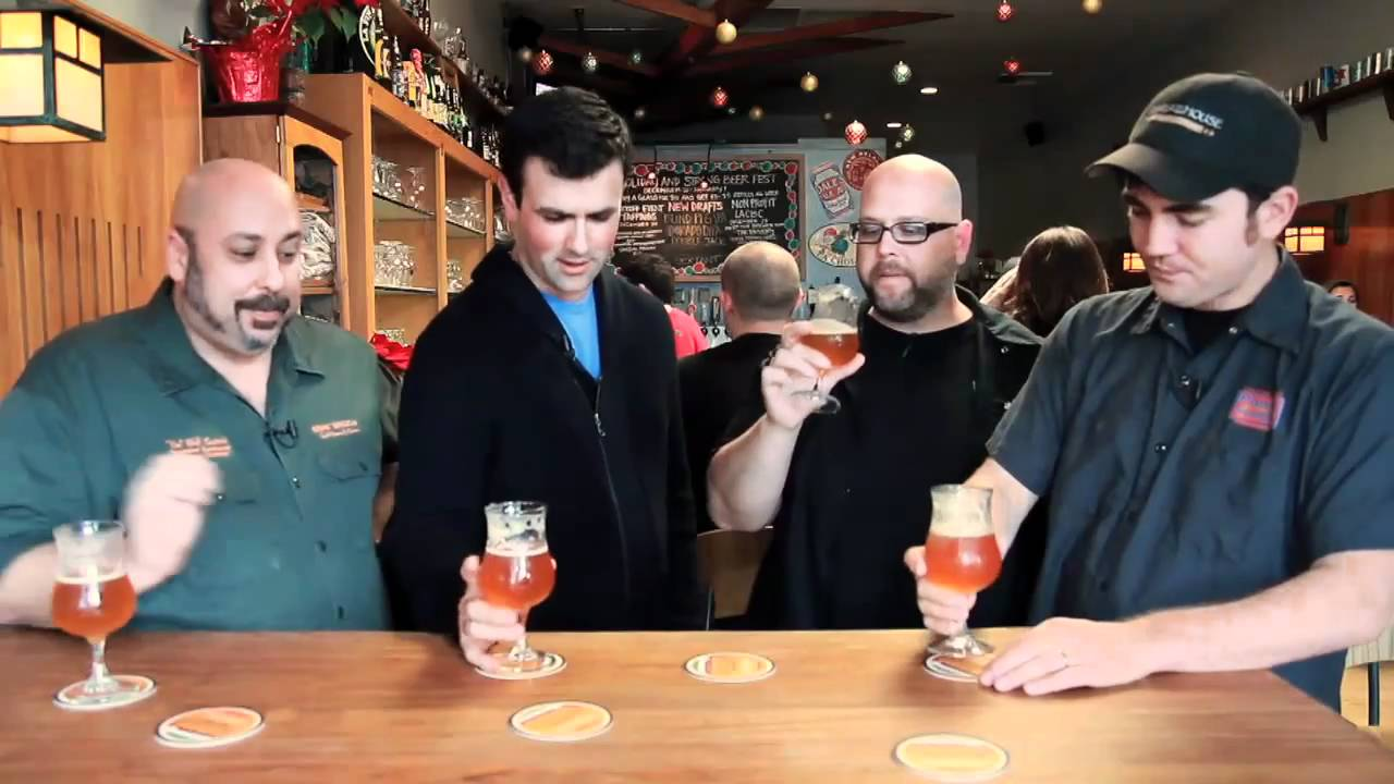 citra dipa kern river brewing on location at library ale house