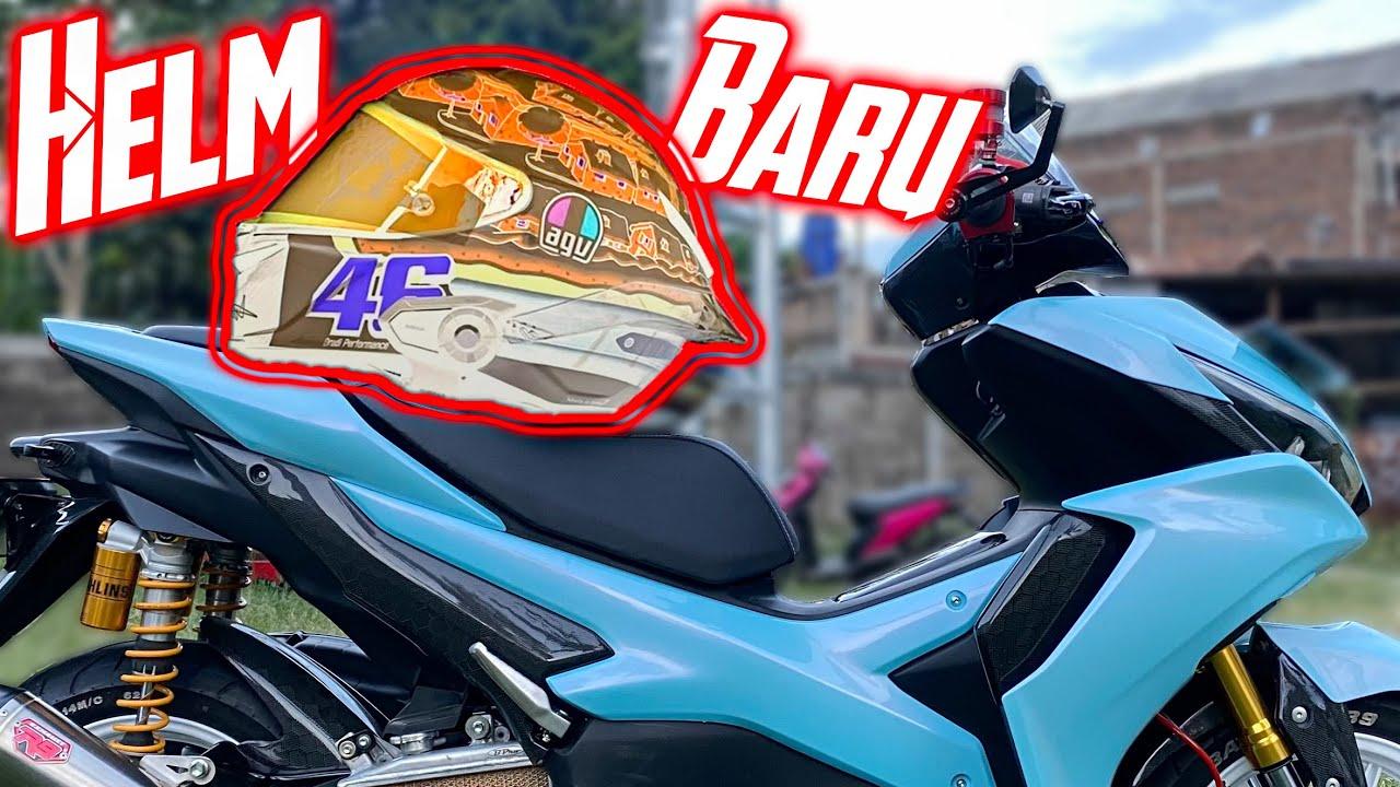 Helm Baru!! Special Buat Erox - Matching Sama Motor   Aerox 155