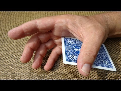 INCREDIBLE CARD MAGIC 'PALM' REVEALED! (Expert Card Trick Technique!)
