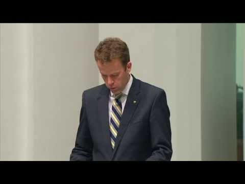 Dan Tehan - Intelligence & Security Committee Report on Foreign Fighters Bill (20th Oct 2014)