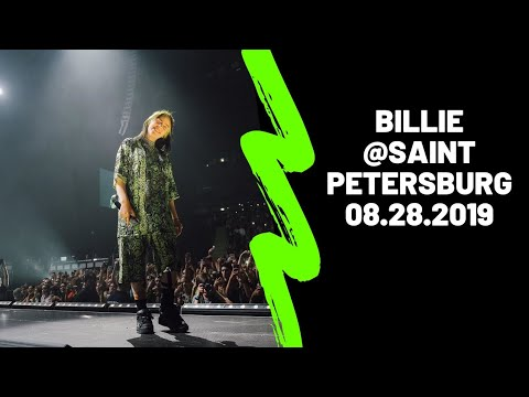Billie Eilish @Ice Palace || Saint Petersburg, 08.28.2019 // Pâtes Oefs