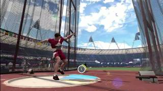 Men's Discus Throw | London 2012:The Olympic Games | XBOX 360 | Hard