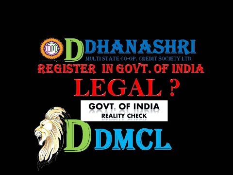 DDMCL Legal Documents Live check | how to check register society.