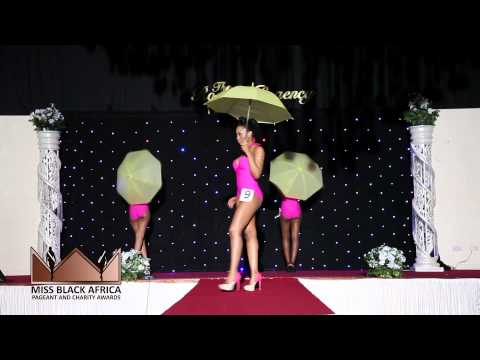 Miss Black Africa UK 2013 Grand Finale Swimsuit Round