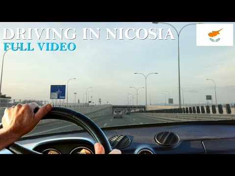 Driving in Nicosia | FULL VIDEO
