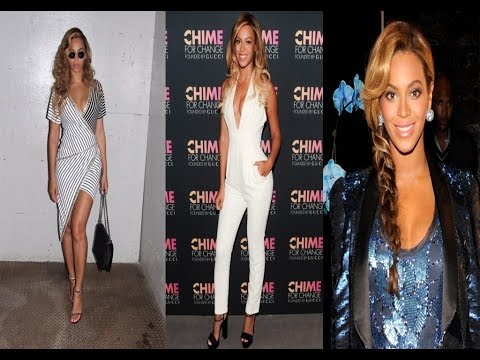 Beyonce's Casual Style & Hairstyle - 2016