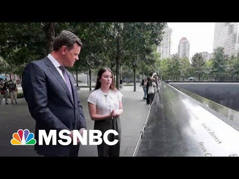 Honoring Loss Of Her Father On 9/11 By Volunteering At Memorial