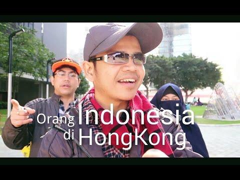 Hong Kong Bertebaran Orang Indonesia