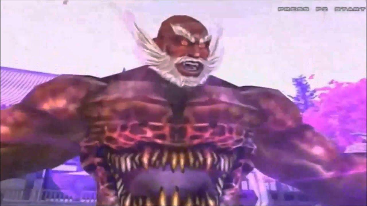 Tekken 5 Dark Resurrection: Jinpachi Mishima All Intros ...