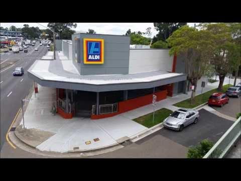 Conex Group Pty Ltd - Aldi Supermarket Complex Photographic Slideshow