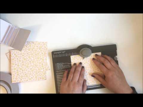 Paper Tea Bag Gift Box Tutorial