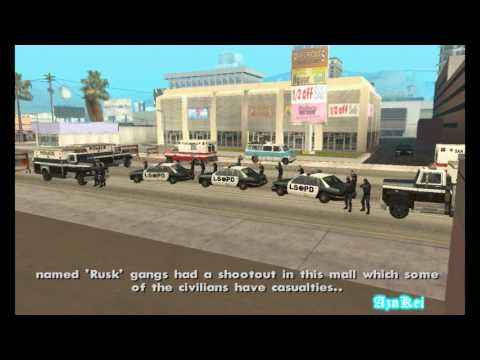 GTA San Andreas DYOM: [GOTH] The Police Business (part4) (720p)