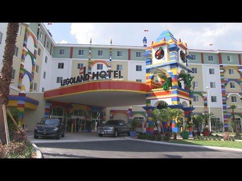 legoland-hotel-tour---lobby,-restaurant,-pool-at-legoland-florida-resort