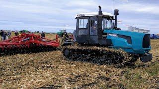 Гусеничний трактор ХТЗ-181.20 ОБЗОР в роботі на виставці АгроЕкспо 2018
