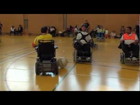 Champ Suisse Foot-Fauteuil 2012 Match Retour Les Egle vs Pirates I