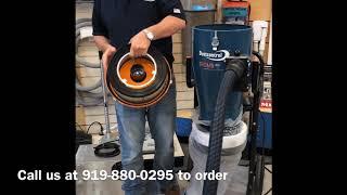 Dust Control Tromb 400. OSHA Silica Dust Commercial Vacuum Dust Extractor